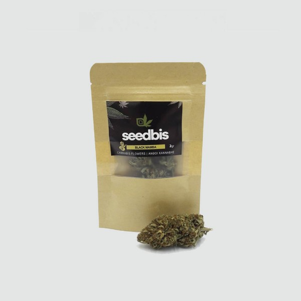 ΑΝΘΗ ΚΑΝΝΑΒΗΣ – SEEDBIS BLACK MAMBA 18% CBD 2 gr