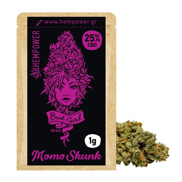 BUD GIRL 25% MOMO SKUNK 1G