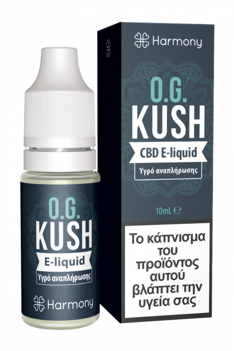 E-liquid OG kush 10ml 30mg cbd