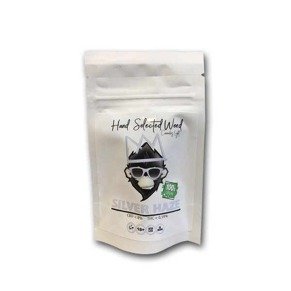 Hand Selected Weed – Silver Haze 8% CBD