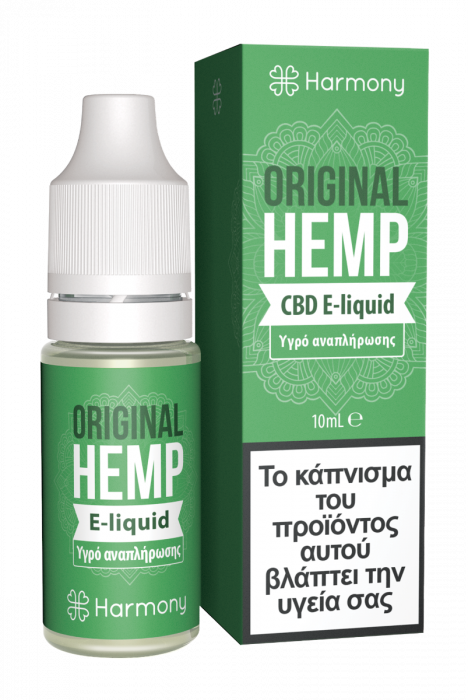 Harmony Original Hemp CBD - 10ml 30mg