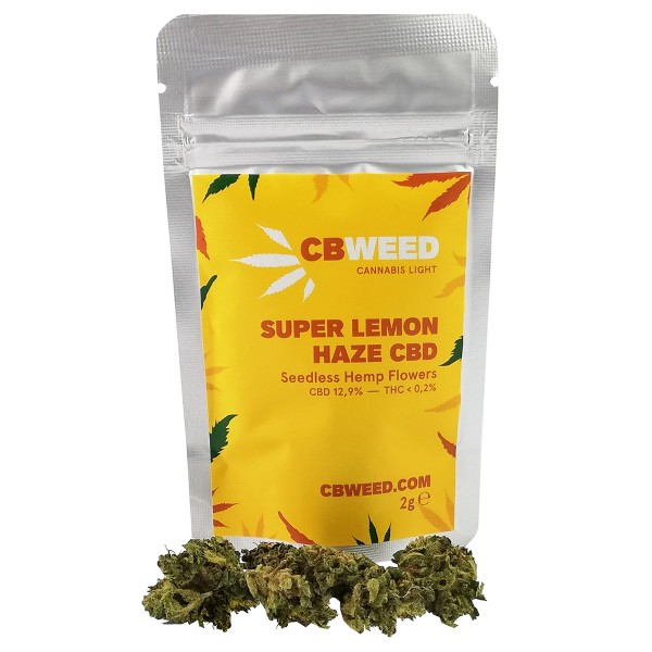 Super Lemon Haze 12,9 CBD, 2GR